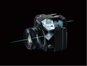 Optical viewfinder with 100-percent field of view