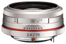 HD PENTAX DA 70mm F2.4 Limited Silver